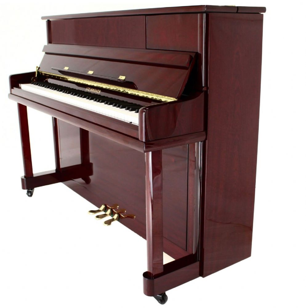Steinhoven su112 upright piano polished mahogany for What are the dimensions of an upright piano