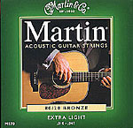 Martin 10-47 Extra Light Acoustic Guitar Strings
